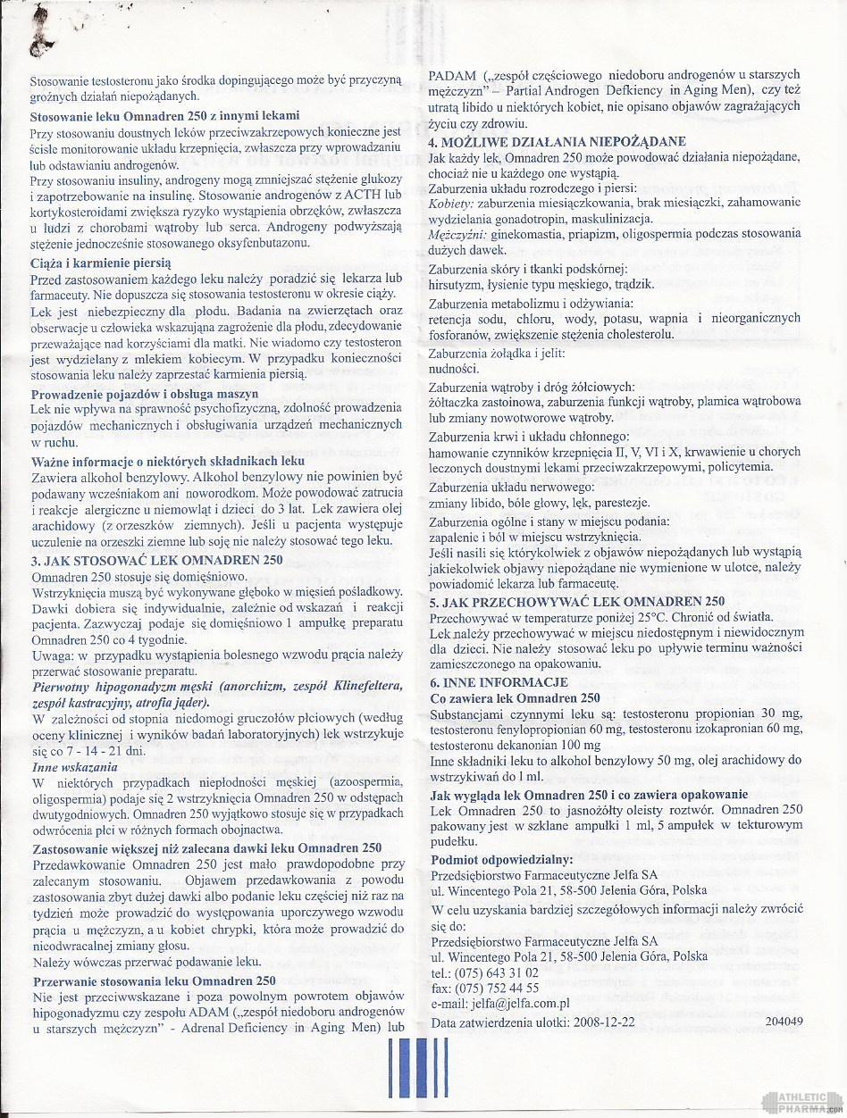 Omnadren 250 инструкция-2 (вкладыш)