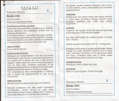 Bolde 250 genesis инструкция (вкладыш)