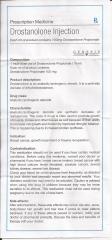 Drostanolone Injection genesis инструкция-1 (вкладыш)