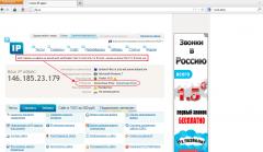 Tor browser, проверка ip-адреса