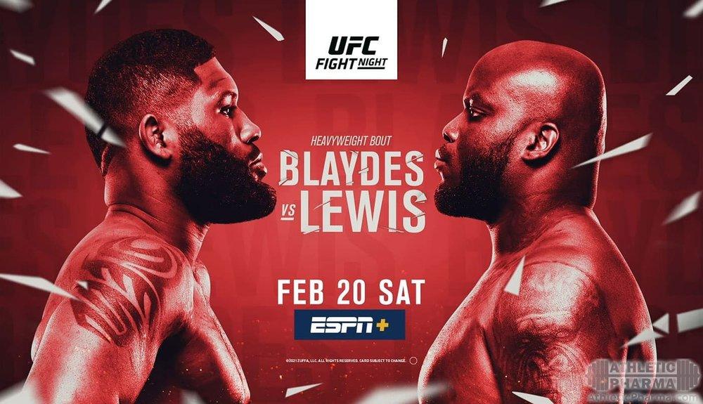 UFC Fight Night 185 - Блейдс против Льюиса
