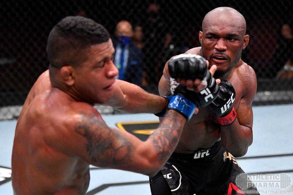 Усман побеждает Бернса (UFC 258)
